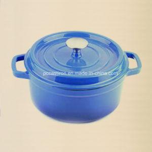 22cm Staub Style Cast Iron Casserole Pot Dutch Oven 2.8L pictures & photos