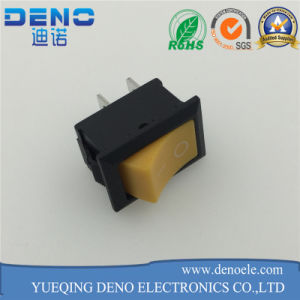 Yellow Color Boat Switch Rocker Switch pictures & photos