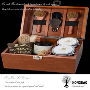 Hongdao Custom Wooden Brush Tools Storage Box Wholesale_L pictures & photos