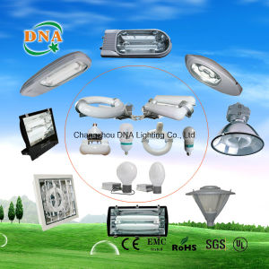 300W 350W 400W 450W Induction Lamp Dimming High Bay Light
