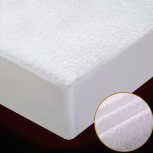 Waterproof Mattress Pad 100% Cotton/Terry Fitted Mattress Protector pictures & photos