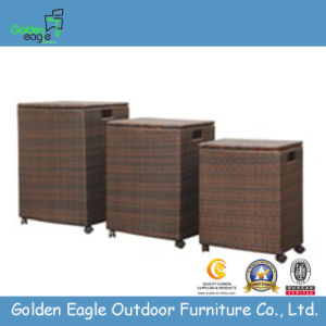 Rattan Patio Garden Outdoor Storage Box