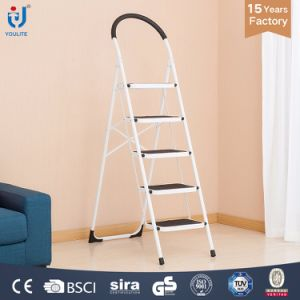En131 Certificate Household Multi Fuction High Quality Steel Ladder pictures & photos