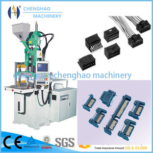 Chenghao Brand 55t Plastic Vertical Injection Molding Machine for Making Connector Junctor