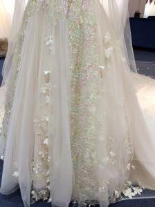 Aolanes Own Design Gorgeous Princess Wedding Dress pictures & photos
