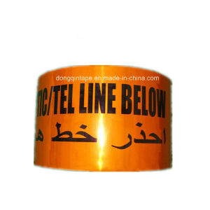 Orange Detectable Foil Tape for Warning pictures & photos