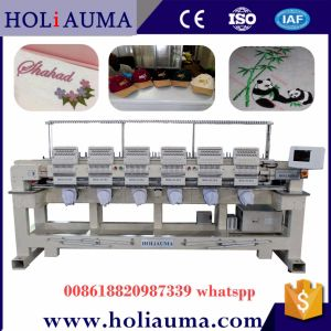 Commercial Computerized Embroidery Machine with China Top Dahao System 6 Head 15 Color Embroidery Machine  pictures & photos