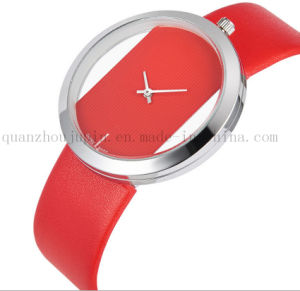 OEM Fashion Leisure Simple Wrist Quartz Watch with Colorful Bracelet pictures & photos