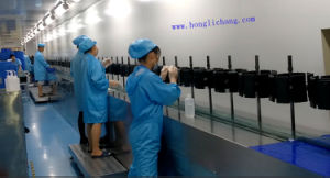 Plastic Parts Dustfree Automatic UV Spray Coating Line pictures & photos