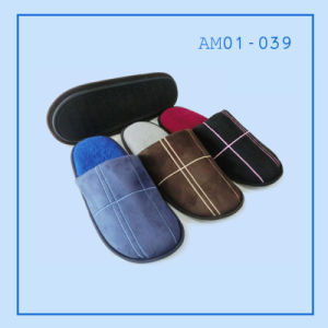Winter Men Indoor Soft Slipper pictures & photos