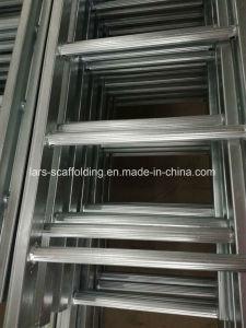 Aluminium Portable Ladder with Simple Design pictures & photos