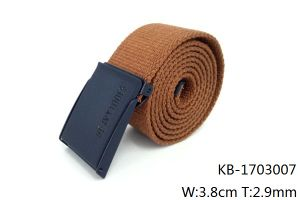 New Fashion Men Woven PU Belt (KB-1703007) pictures & photos