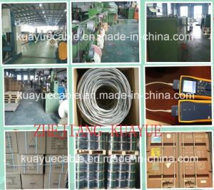 LAN Cable UTP Cat 6 Cable/Computer Cable/ Data Cable/ Communication Cable/ Connector/ Audio Cable pictures & photos