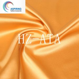 Spandex Dull Twisting Satin Fabric for Women Garment pictures & photos