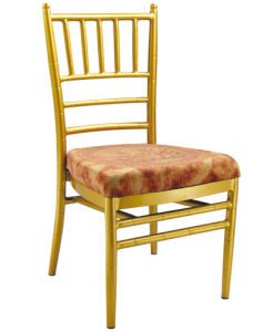 Hot Sale Metal Banquet Bamboo Dining Chair for Rastaurant pictures & photos