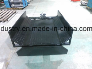 Completely Welded Powder Coated Plate ATV Farm Traler, Box Trailer, Single Axle Trailer pictures & photos