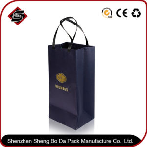 Promotion Rectangle Customized Paper Gift Packaging Bag pictures & photos