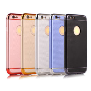 Electroplate TPU 3 in 1 Mobile Phone Case for iPhone 7g 7plus J7 J5 2017 C7PRO S8 S8plus Hard TPU Phone Case (XS-QW01) pictures & photos