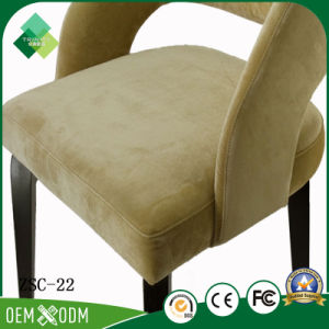 Antique Fabric Chair Round Back Chair for Dining Room (ZSC-22) pictures & photos