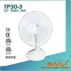 "12"" Cooling Table Fan with 3 Comfort Speeds pictures & photos"