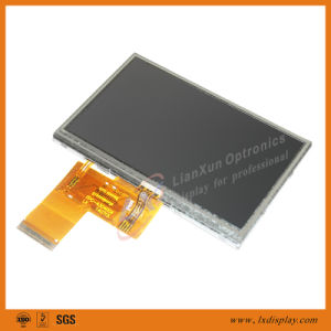 4.3inch 480*270 LCD Screen with High Brightness pictures & photos