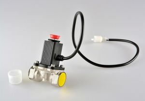 Household Combustible Gas Leakage Alarm Detector Sensor with Shutoff Valve pictures & photos