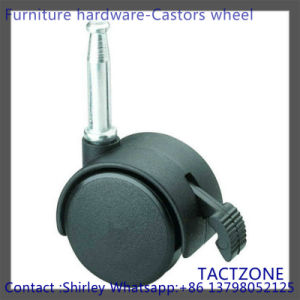 PRO Wholesale Free Sample Nylon Long Plunger Heavy Duty Swiver Caster with Brake pictures & photos