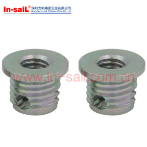 Self -Tapping Flange Head Threaded Insert Nut pictures & photos