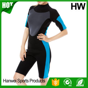 Factory Direct Marine Back Zipper Neoprene Surfing Wetsuits (HW-W004) pictures & photos