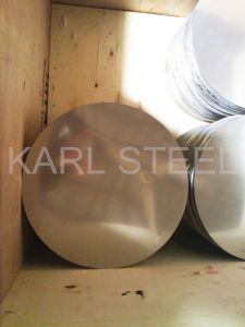 China High Quality 410 Cold Rolled Stainless Steel 2b Circle pictures & photos
