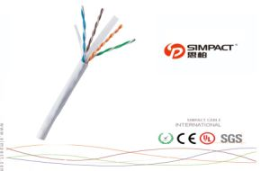 UTP Cat5e/CAT6 Outdoor Networking LAN Cable with Fluke Tested pictures & photos
