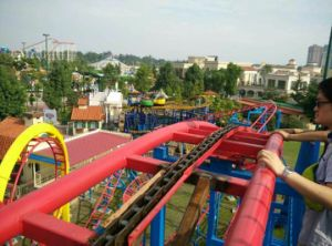 Playground Equipment Roller Coaster Taking Small Area But Long Rail Save Cost with High Income pictures & photos