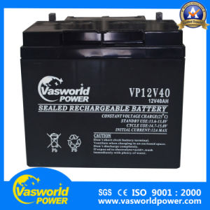 12V33ah Lead Acid Battery for Solar Power System pictures & photos