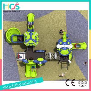 Outdoor Plastic Slides Kids Equipment Playground (HS04401) pictures & photos