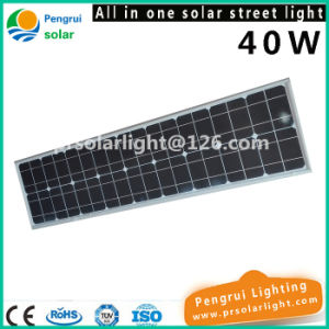 40W Energy Saving LED Motion Sensor Outdoor Garden Solar Street Light pictures & photos