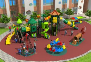 2017 New High-Quality Outdoor Playground Equipment Slide (HD17-010A) pictures & photos