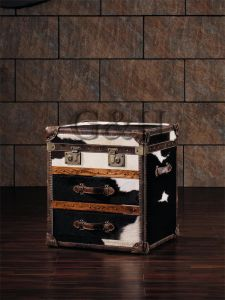 Functional Stylish Leather Decorative Storage Trunk pictures & photos