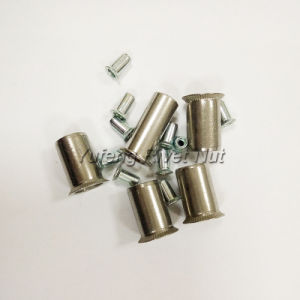Stainless Steel/Carbon Steel Rivet Nut with Round Head pictures & photos