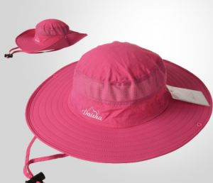 Women′s Red Upf 50+ Hat pictures & photos