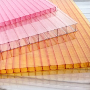 Fire Resistance Polycarbonate Hollow Sheet Solid Sheet Corrugated PC Sheet pictures & photos