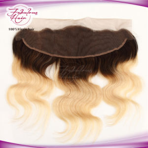 Virgin Hair 13X4 1b/ 613# Blone Lace Frontal Body Wave pictures & photos