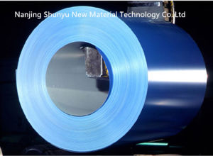 Blue Color Aluzinc Coated Galvalume/Galvanizing Steel Coil/Color Aluminum Stainless Steel pictures & photos