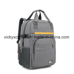 17inch Big Capacity Double Shoulder Shockproof Business Travel Laptop Backpack pictures & photos