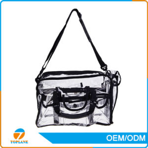 Promotion Clear Transparent PVC Cosmetic Bag Plastic Bag pictures & photos