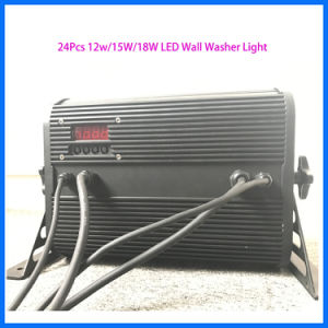 LED Stage Indoor DMX512 Wall Washer 24 PCS *12W pictures & photos