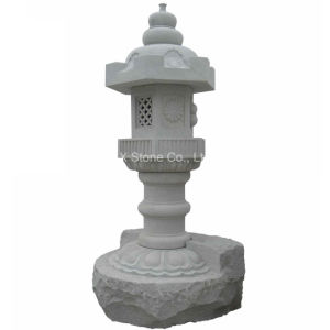 Chinese Stone Granite Carving Lantern for Garden pictures & photos