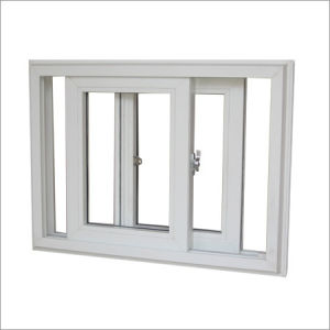 Double Glazing UPVC Sliding Window pictures & photos