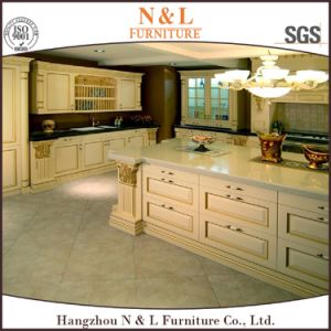 N&L Home Furniture New Design Solid Wood Kitchen Cabinet pictures & photos