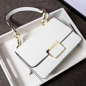 Hot Sale Simple Style Genuine Leather Bag Ladies Shoulder Bag Emg4757 pictures & photos