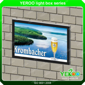 Wall Mounted Scrolling Advertising Light Box in Shopping Mall pictures & photos